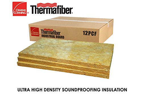 Owens Corning Soundproofing Insulation : STC 20 : 12pcf 48