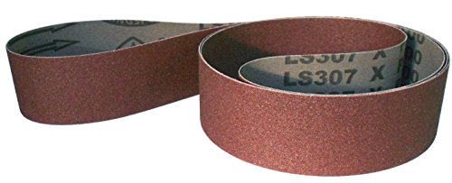 Klingspor LS 307 X Schleifband | 50 x 2000 mm | 5 Stück | Körnung: 80