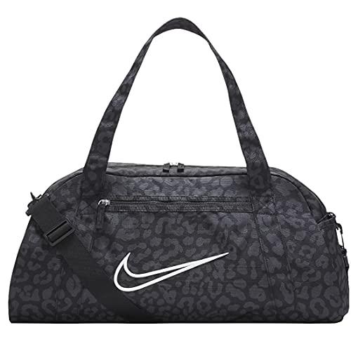 NIKE DJ8531 W NK GYM CLUB BAG 2.0 AOP NP Sports pouch women's black/dk smoke grey/white 1SIZE