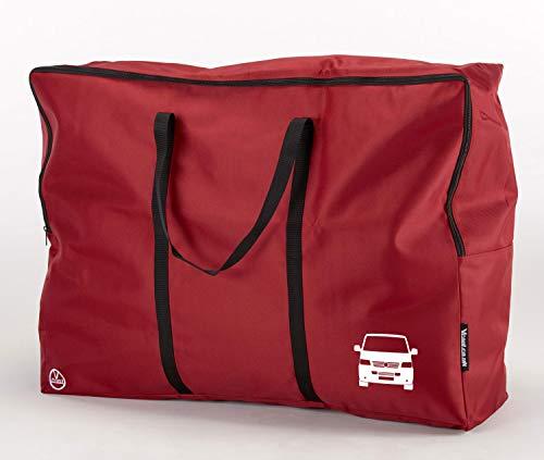 Vcool Heavy Duty Bedding Storage Bag for T5 Transporter Campervan (Red)