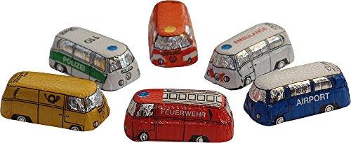 Melkchocolade Noviteit Mini VW Bus (6 meegeleverd)