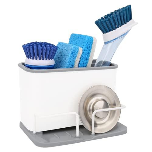 Kitchen Sink Caddy, Sink Sponge Holder, Dish Brush...