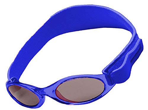 Gafas de sol polarizadas para bebés para niños/niños pequeños y niñas, 100% protección solar para edad de 2 a 4 años UV400 MFAZ Morefaz Ltd, color Azul, talla Talla única
