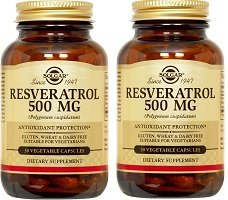 Resveratrol 500mg 2 Pack Buy Online In Brunei Solgar
