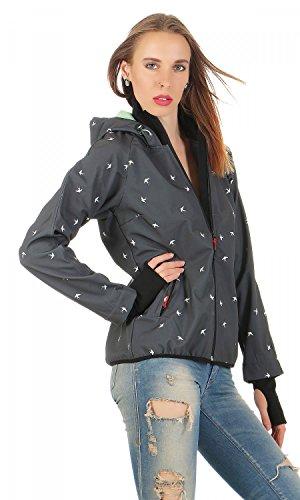 Damen Jacke NEU COSY RAINSTORM SURVIVAL ZIP BLUTSGESCHWISTER