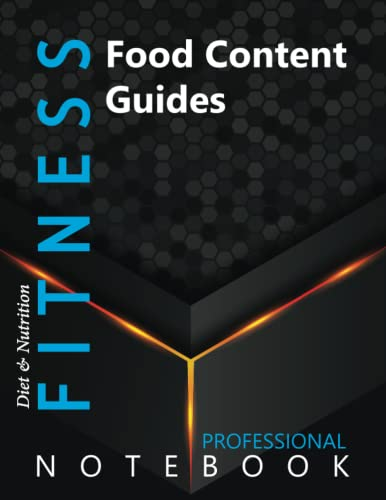 """Compare Textbook Prices for Fitness, Food Content Guides Ruled Notebook, Professional Notebook, Writing Journal, Daily Notes, Large 8.5"""" x 11"""" size, 108 pages, Glossy cover  ISBN 9798750206827 by Pro Health  Cre8tive Press"""