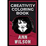 Ann Wilson Creativity Coloring Book: An Entertaining Coloring Book for Adults