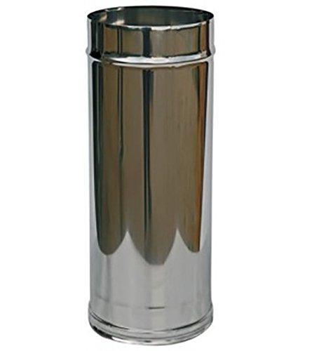 MISTERMOBY CHAPEAU CHINOIS CERTIFICAT ACIER INOX CHEMINEE ENTONNOIR DE 200 MM MALE