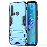 GLXC AYDD PC + TPU Case pour Huawei P20Lite 2019 / Nova5i, avec Titulaire (Color : Blue)