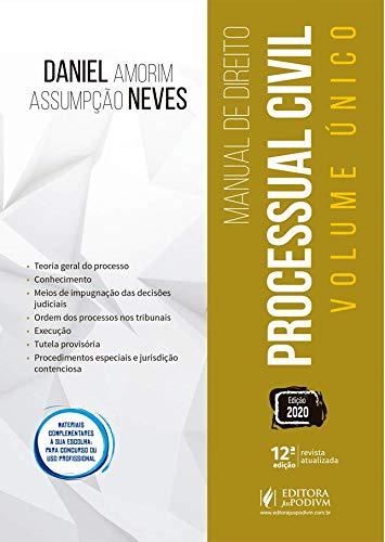 Manual de Direito Processual Civil: Volume único