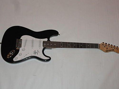 Nita Strauss Cheap bargain Signed Black Electric Max 68% OFF Iron Alice Cooper Maid Guitar