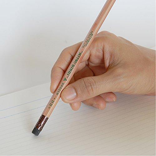 三菱鉛筆消しゴム付きリサイクル鉛筆9852EWHB1ダースK9852EWHB