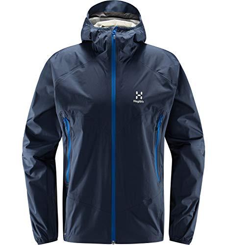 Haglöfs Regenjacke Herren L.I.M Proof Multi Jacket wasserdicht, Winddicht, atmungsaktiv Tarn Blue L L