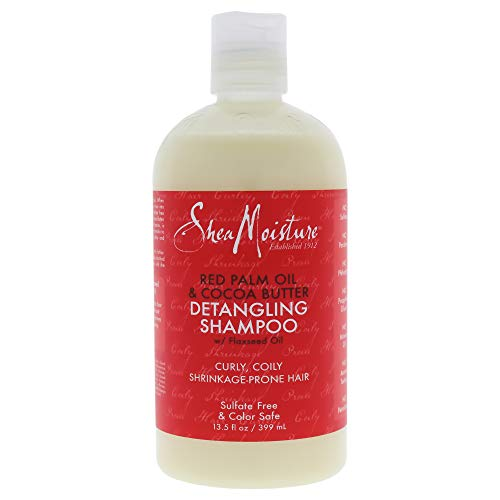 Shea Moisture Red Palm Oil and Cocoa Butter Detangling Shampoo, 350 ml