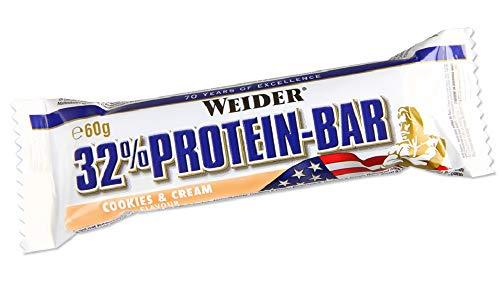 Weider 32% Protein Bar, Gusto Cookies-Cream 1300 g