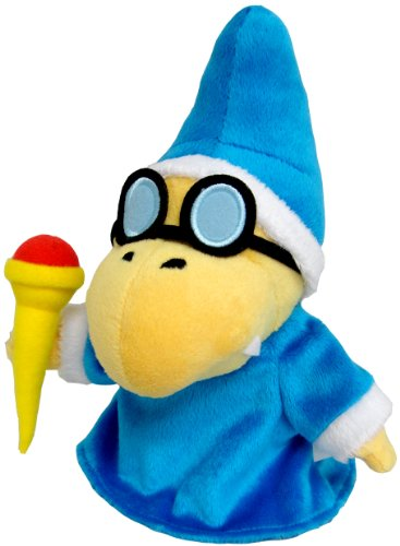 "Little Buddy Toys Nintendo Magikoopa 7"" Plush"