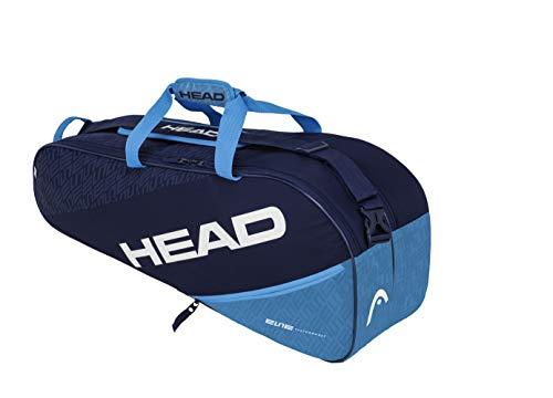 HEAD Unisex-Erwachsene Elite 6R Combi Tennistasche, Navy/blau