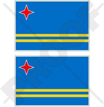 ARUBA Aruban Vlag Mindere Antillen, Caribisch 4