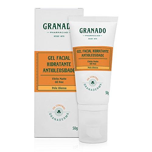 Gel Facial Hidratante Antioleosidade, Granado, Laranja, 50g
