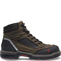 Wolverine Men's Overman Nano Toe 6 inch WPF Contour Welt Work Boot