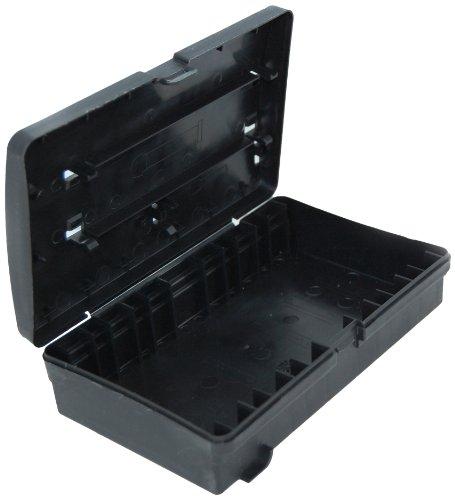 DeBuyer 2012.89 - Caja de almacenamiento para utensilios de cocina, color negro, 19.6 x 10.8 x 5.8 cm