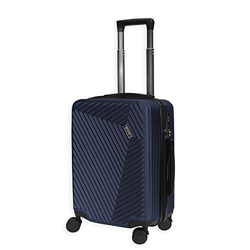 ABS ligero 4 Spinner rueda duro Shell equipaje maleta cabina viaje bolsa TSA Lock- LC015