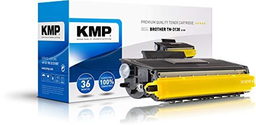 KMP Toner für Brother HL-5240 - Druckkartusche Schwarz - Kompatibel - Tonerkartusche für TN-3130 - Office Druckerkartusche