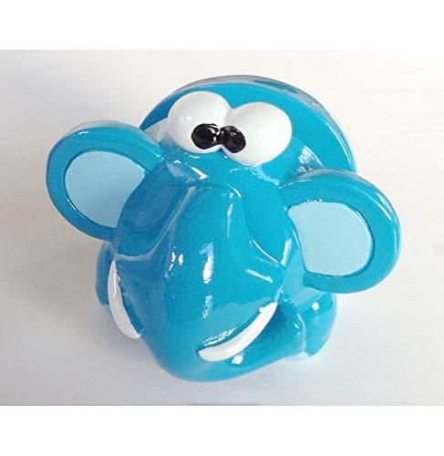 AC-Déco Porte Lunettes - Support en Forme D'éléphant Bleu