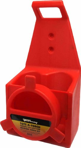 Forney 86221 Oxygen Acetylene Light Duty Replacement Plastic Tote,Red