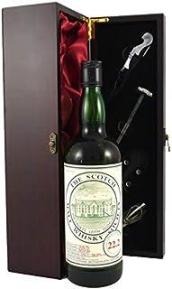Glenkinchie 15 year old Malt Whisky 1975 Bottled by the Scotch Malt Whisky Society in einer mit Seide ausgestatetten Geschenkbox, da zu 4 Wein Accessoires, 1 x 700ml