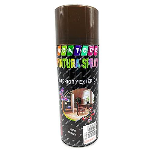 Pintura En Spray Bronce Marca Acan
