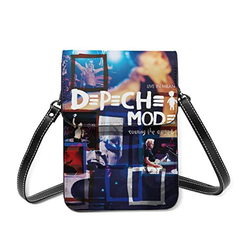 Depeche Mode Touring The Angel Damen Echtleder Mini Sling Organizer Tasche