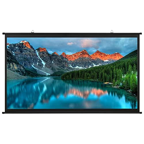 vidaXL Schermo di Proiezione Telo di Proiezione Telone per Film e Diapositive Accessori per Proiettori Display Schermata Visualizzatore 72' 16:9