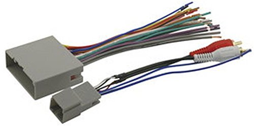 Scosche FDK11B Compatible with Select 2003-08 Ford Premium Sound or Audiophile; Power/Speaker and RCA to Sub Amp input Wire Harness / Connectors