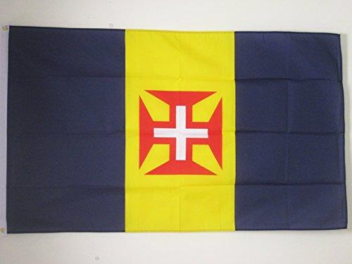 AZ FLAG Flagge Madeira 150x90cm - Madeira Fahne 90 x 150 cm - flaggen Top Qualität