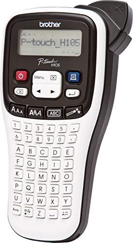Brother PT-H105WB Beschriftungsgerät (für 3,5 bis 12 mm breite TZe-Schriftbänder, bis zu 20 mm/Sek. Druckgeschwindigkeit)
