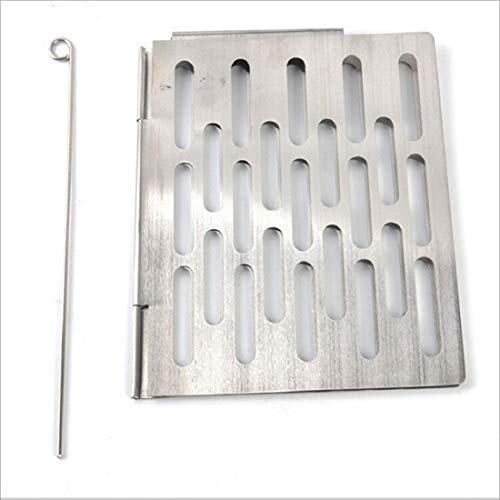 Great Price! YSSWJ Ysswjzz Barbecue Net Accessories Stainless Steel Folding Portable BBQ Picnic,hygi...