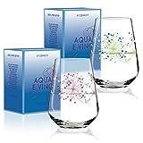 RITZENHOFF Aqua e Vino Design Wasser- und Weinglas, 2er Set, Weinkelch, Weinbecher, Weinschorle...