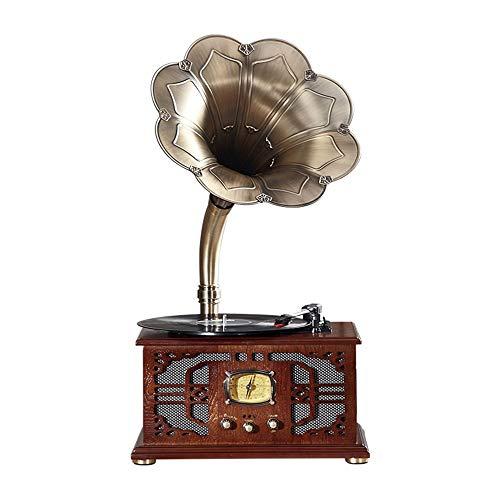 L.Z.HHZL Bolars Gramófono Tocadiscos multifunción Antiguo
