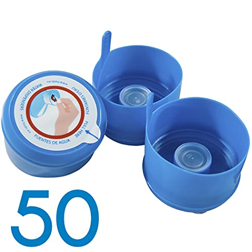 HODS HOME OFFICE DELIVERY SERVICES Tapones Botella 50 Unidades, tapón 5 galones para...