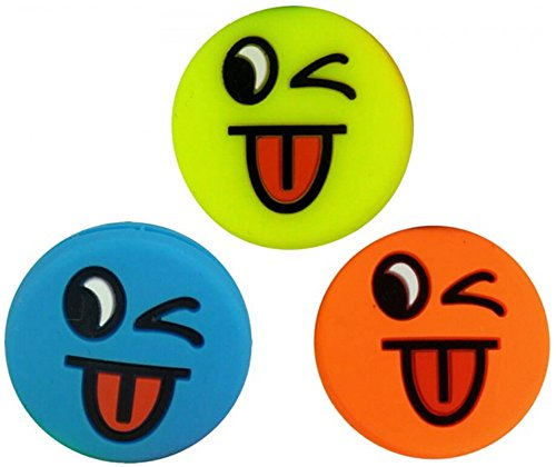 Pro 3 Smiley Vibrationsdämpfer Emoji Funny Tongue