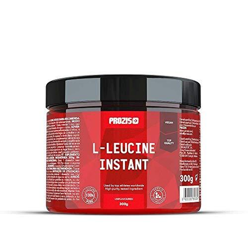 Prozis L-leucine 300 g Nature Complément d'Acides Aminés Hautement Anabolisant Permettant de Stimuler la Récupération et la Croissance Musculaire - Idéal pour le Culturisme