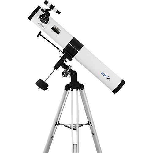 Zoomion Voyager 76/900 EQ Reflector telescopio - Juego