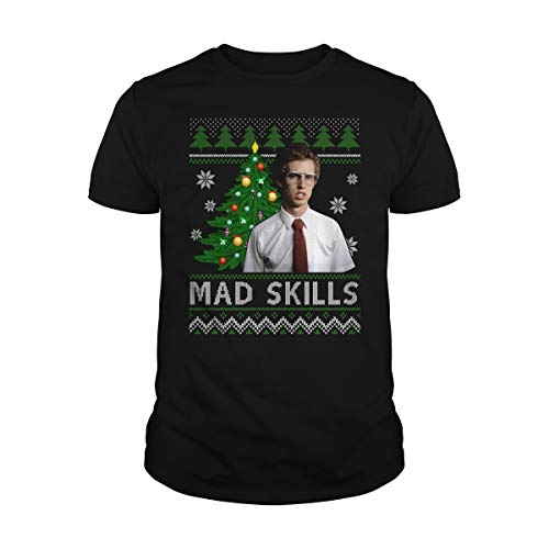 Uzubunki Mad Skills Ugly Christmas Camiseta