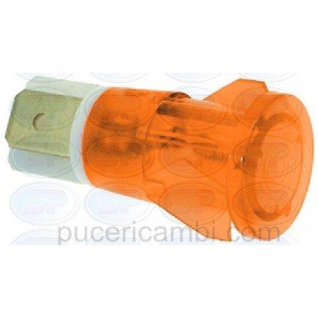 LAMPADA SPIA ARANCIO 230V CODICE: 3221025