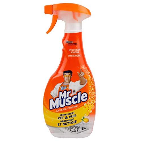 Mr. Muscle Limpiador de cocina 3 botellas x 50 cl