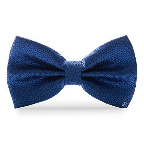 GRIN accs - Corbata de Moño para Hombre Clasico - Color Azul Rey