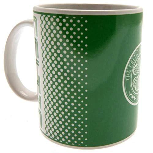 Official Glasgow Celtic FC Fade Design Ceramic Mug
