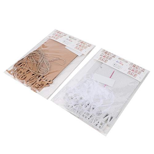 Changor Cadres d'images, avec Papier 24x13cm Carte de Papier Photo Photo Papier Photo pour la décoration de fête d'affichage Bricolage