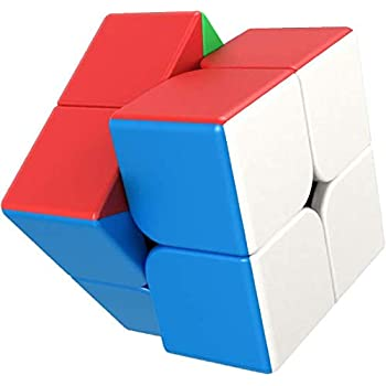 【ONES】 スピードキューブ 公式·WCA国際大会規格 競技用 - ファスト 安定 『スプリングシステム、POP防止、アンチスティッキー』- 2×2 – 世界基準配色